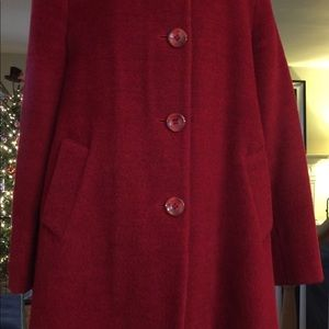 Gorgeous Ellen Tracy Alpaca Wool Winter Coat